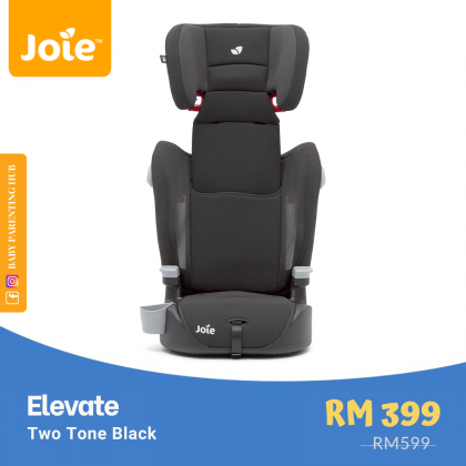 Joie Elevate Two Tone Black 9 to 36kg | 1 to 12 years old