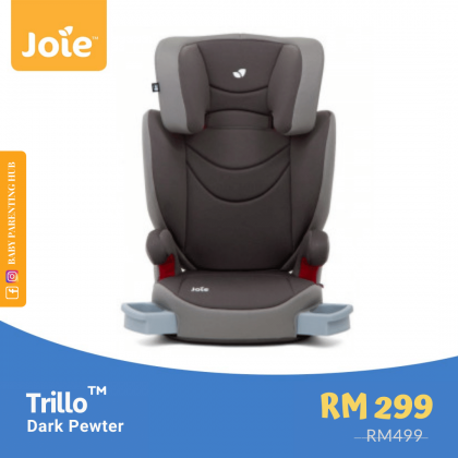 Joie Trillo Dark Pewter 15 to 36kg | 3 to 12 years old